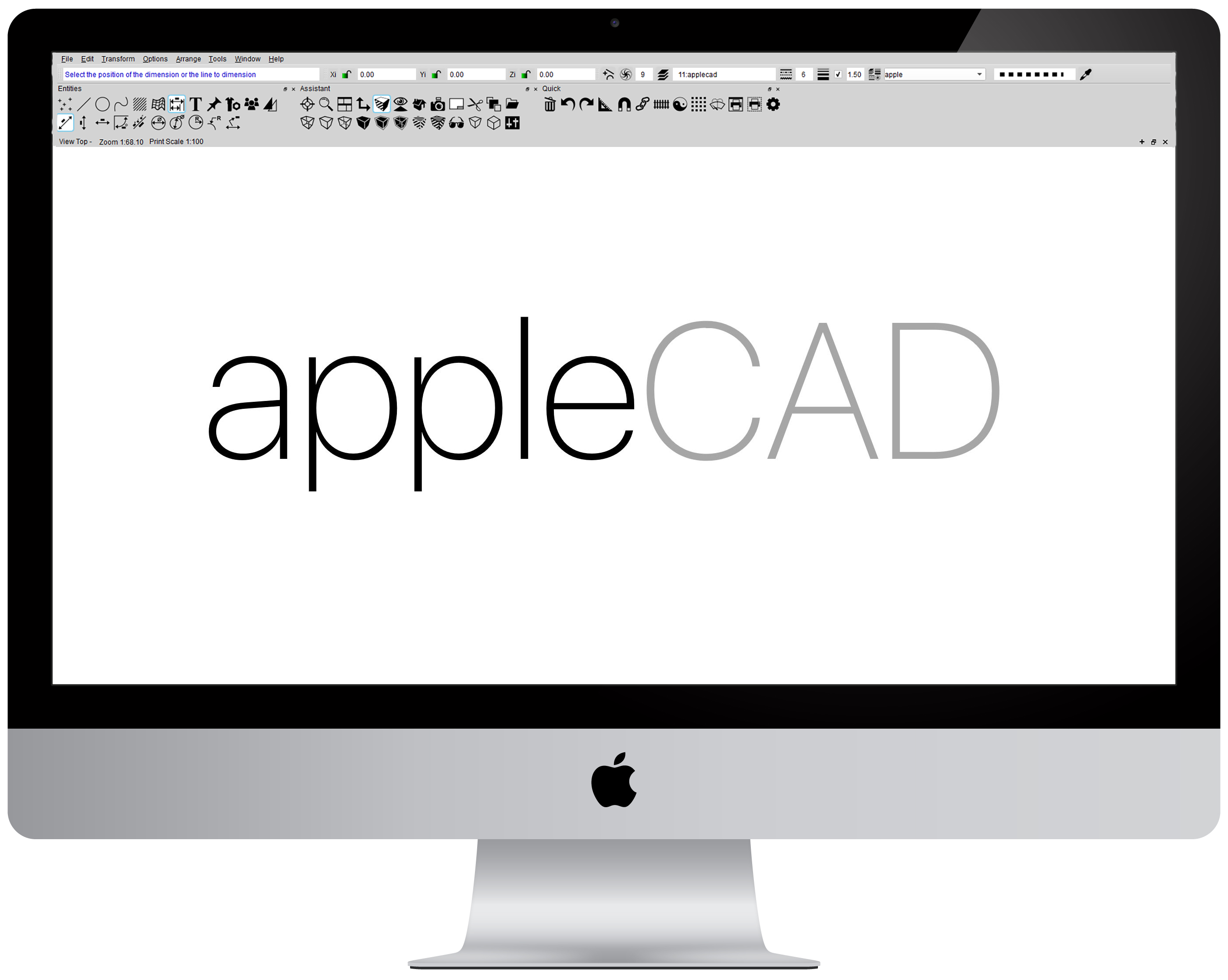 Applecad cad software for mac reviews and advice for Free cad programs for mac